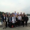 NORSI Management Team and students on Zhejiang University campus in Hangzhou.